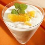 yoğurtlu portakallı tatlı